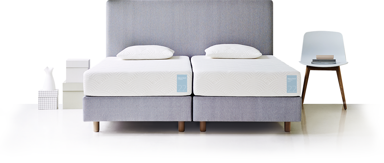 Sypialnia z materacem marki Tempur
