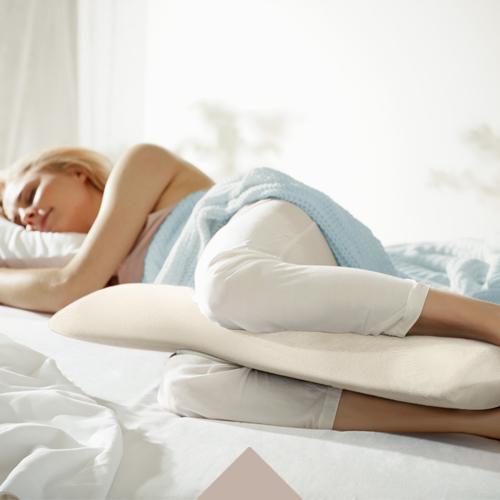 Wygodna pozycja do spania dla ciężarnych