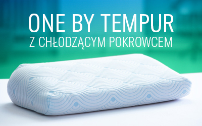 Poduszka One By TEMPUR z chłodzącym pokrowcem